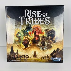 Rise of tribes board game new in box sealed